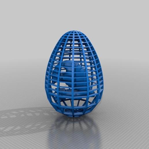 Download free 3D printing models egg the ghost - menopause joke, syzguru11