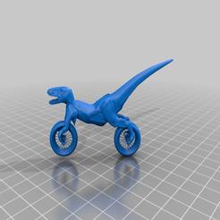 Descargar STL gratis Concepto de moto Raptor V2.1 / Motocicleta Fun Dino Chopper, syzguru11