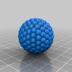 Télécharger STL gratuit sphère de sphères.  Sphère de béryllium, syzguru11