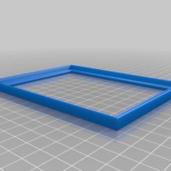 Imprimir en 3D gratis marco de fotos 9x13 / 10x18, syzguru11