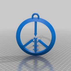 4702e42b8f27ab1432f05271b989f108.png Download free STL file peace maker sign / sniper rifle version • 3D printer template, syzguru11