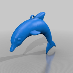 Download free 3D printing models dolphin, syzguru11