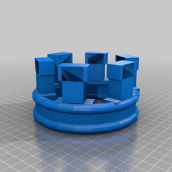 Download free 3D printer designs crown, syzguru11