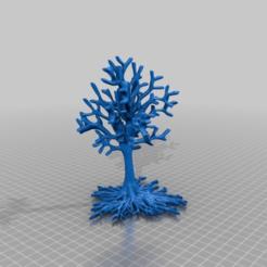 Descargar STL gratis árbol con raíces, syzguru11