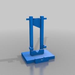 Télécharger fichier STL gratuit guillotine (fonctionnement) 800 ans édition anniversaire de Magnacarta, syzguru11