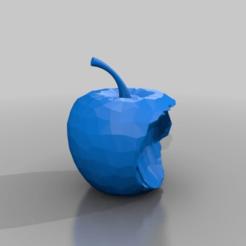 Download free 3D printer designs the bitten apple, syzguru11