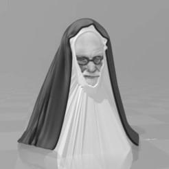schwesterfreud.jpg Télécharger fichier 3MF gratuit schwester Freud - marionnette à doigts • Objet imprimable en 3D, syzguru11