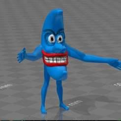Télécharger fichier imprimante 3D gratuit lune bleue, syzguru11