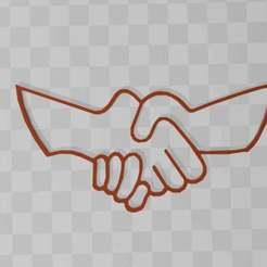 Télécharger objet 3D gratuit serrer la main, syzguru11