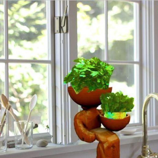 Download free 3D printing templates plant sitter, syzguru11