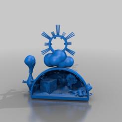 Télécharger fichier impression 3D gratuit vision du monde - mix, syzguru11