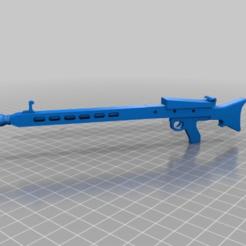 Télécharger fichier 3D gratuit MG42 / Maschinengewehr 42, AKA HITLERSAEGE - die Braut, syzguru11