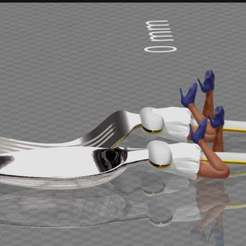 Download free 3D printer templates spoon and fork / girl - edition hannibal, syzguru11