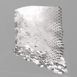 Download free 3D printer templates breakin falling brick wall - one piece, syzguru11