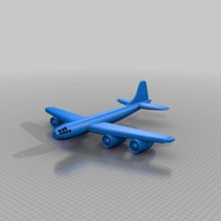 Télécharger fichier imprimante 3D gratuit Avion forteresse B-29, syzguru11