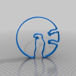 Télécharger fichier STL gratuit la lineas not ? dans une bulle • Plan à imprimer en 3D, syzguru11