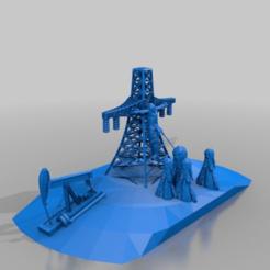 Download free 3D printer designs jesus crucified on oelberg high voltage pylon, syzguru11