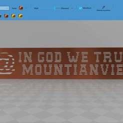 Télécharger objet 3D gratuit in god we trust @ mountian view, syzguru11