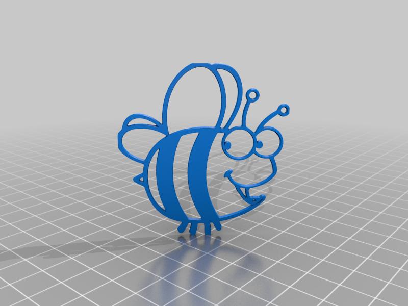 beev.png Télécharger fichier STL gratuit bee • Objet pour impression 3D, syzguru11