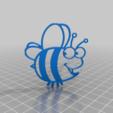 Télécharger fichier STL gratuit bee • Objet pour impression 3D, syzguru11