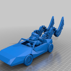 Download free 3D printer files trump in delorian playing ...one more tomorrow song, syzguru11