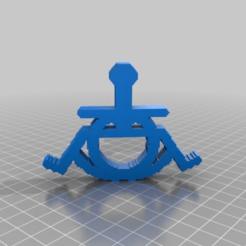 Télécharger fichier STL gratuit un, deux fauteuils roulants => happy wheel chair - ou pedant Zeitgeist • Objet pour imprimante 3D, syzguru11