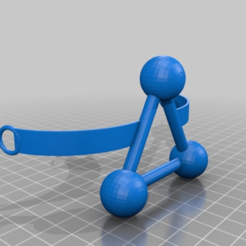 Download free 3D printer templates Stirnband   Tres blindness spheres, syzguru11