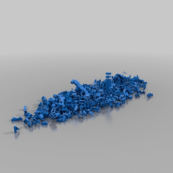 Télécharger fichier 3D gratuit colline de lettres, syzguru11