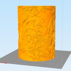 rick1.PNG Télécharger fichier STL Cylindre Litofania par Rick et Morty • Modèle pour imprimante 3D, Litoprint