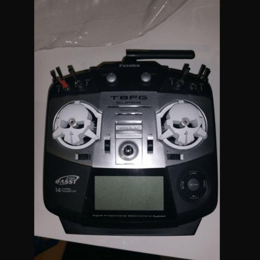 RotorRiot Cardan Protector pour Futaba 14SG//T8FG Super