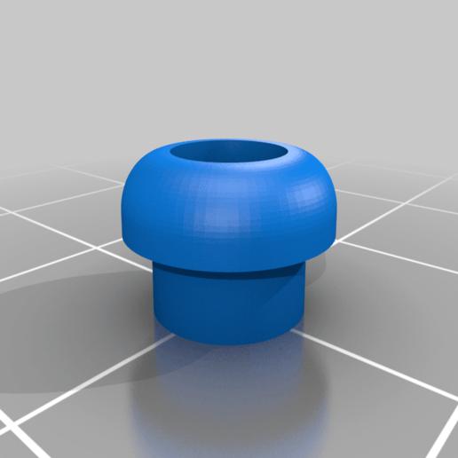 Download free STL file Fatshark Joystick cap • 3D print model, Sponge