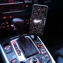 Télécharger fichier impression 3D gratuit Support de téléphone Audi A5 pour S8+ avec chargement rapide sans fil, Sponge