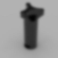 Bed_Level_Knob.stl Télécharger fichier STL gratuit Bouton de niveau de lit Craftbot Plus • Modèle à imprimer en 3D, Sponge