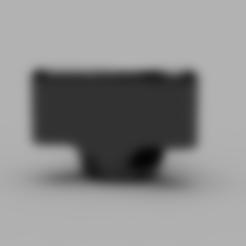Heatbed_Knob.stl Télécharger fichier STL gratuit Bouton de lit chauffant • Plan pour imprimante 3D, Sponge