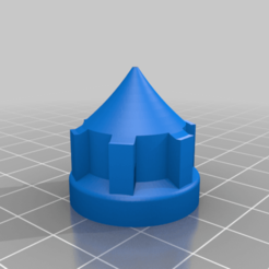 Silikon-nozzle.png Download free STL file Sealant Nozzle Short 1mm • 3D print design, Sponge