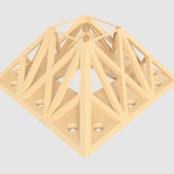 Straight-new_v6.png Télécharger fichier STL gratuit Socle de lampe de pont à LED • Modèle pour impression 3D, Sponge
