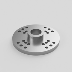 Servo_Arm_Round_2016-Oct-02_02-28-45PM-000_Startseite.png Download free STL file Servo arm horn round • Template to 3D print, Sponge