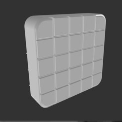 boite et 25 casiers.jpg Télécharger fichier STL boite de rangement XL 30cm x30cm. storage boxes XL • Design à imprimer en 3D, nobody974