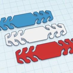 mask attachment.jpg Télécharger fichier STL attache masque / Mask attachment • Plan imprimable en 3D, nobody974