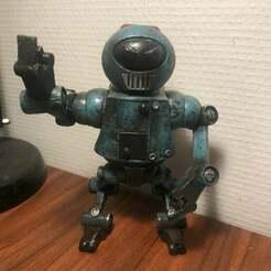 9FBD6A79-F3C7-42A1-8F95-D3191D5F1E05.jpeg Download free STL file Robot NO 2 • Design to 3D print, MrJansen82
