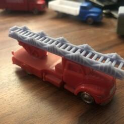 01.jpg Download free STL file LEGO Bedford Ladder • 3D printer model, MrJansen82