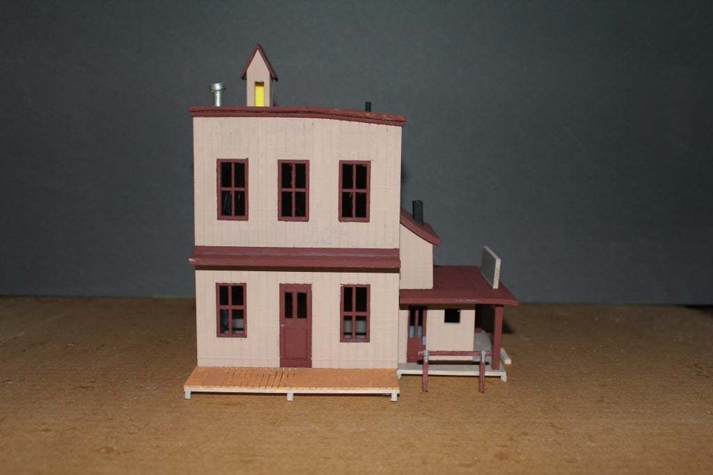 OldWest011a.jpg Download free STL file Old West - Main Street • Object to 3D print, MiniMe