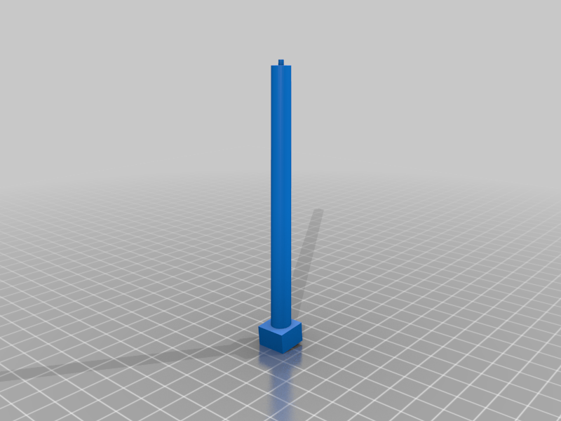 Post001.png Download free STL file Old West - Main Street • Object to 3D print, MiniMe
