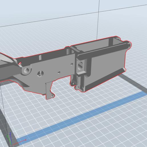 Descargar diseños 3D AR-10 Receptor inferior, Stivenson369