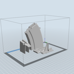 Imprimir en 3D AK-47 10 rondas 7.62 Cargador, Stivenson369