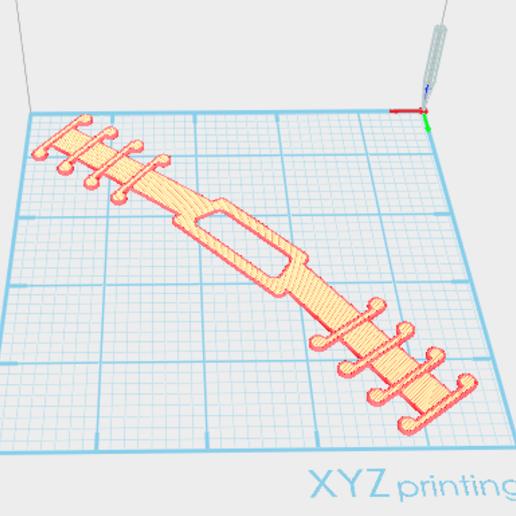 Télécharger objet 3D gratuit Rubans adhésifs pour masques - Economiseurs d'oreilles - COVID19 -STL & DXF, Eriloi