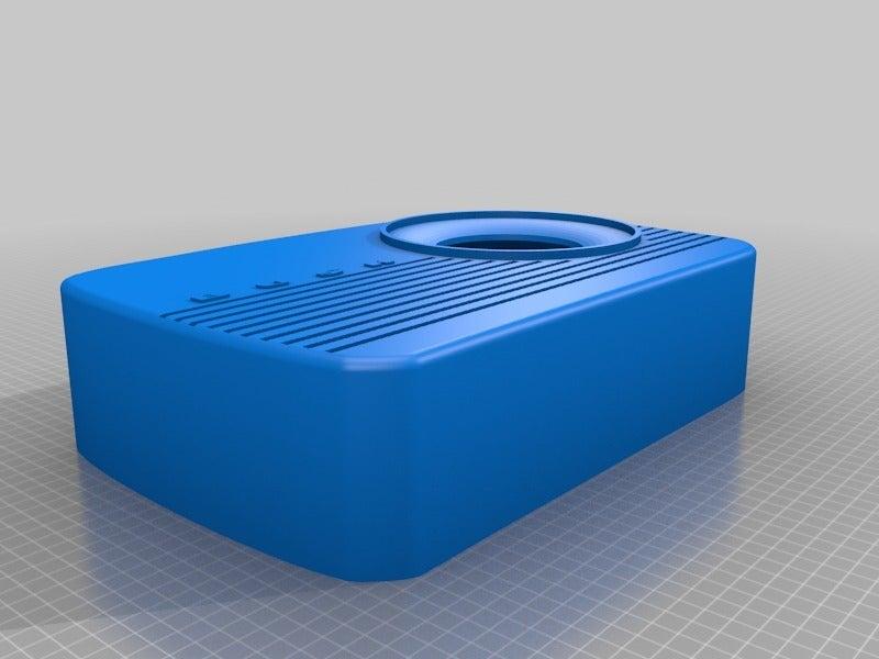 f310675816b7411dbb7b0f6e8266acaf.png Télécharger fichier STL gratuit Porte-point-écho de la radio Amazon vintage de Bush • Plan pour impression 3D, coastermad