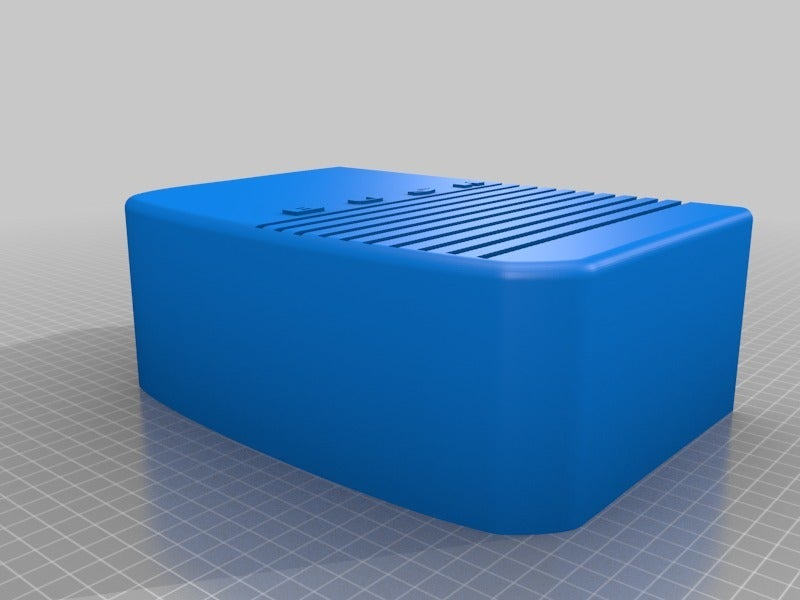 b535ab81a1009419fade9fae9bd65ab4.png Télécharger fichier STL gratuit Porte-point-écho de la radio Amazon vintage de Bush • Plan pour impression 3D, coastermad