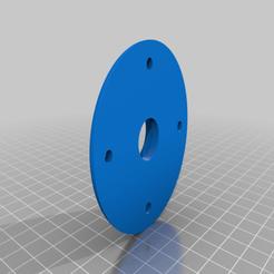 Download free 3D printer templates Bearing hub, coastermad