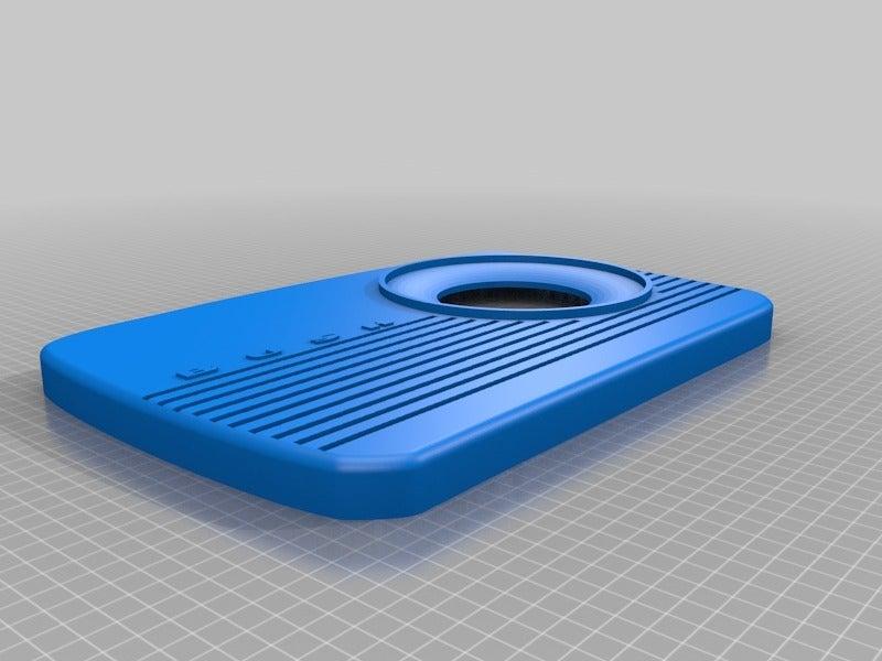 f3127cab7787f889986110e40bab308f.png Télécharger fichier STL gratuit Porte-point-écho de la radio Amazon vintage de Bush • Plan pour impression 3D, coastermad